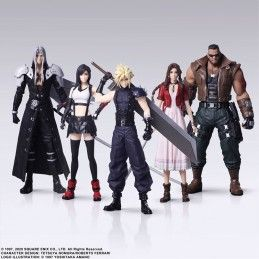 SQUARE ENIX FINAL FANTASY 7 REMAKE TRADING ARTS SET ACTION FIGURE