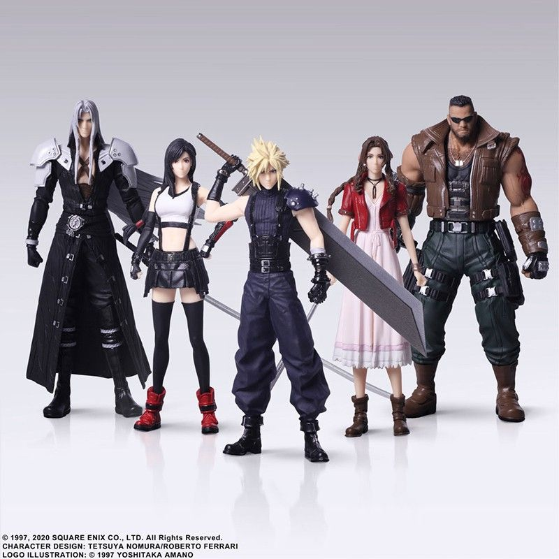 Final Fantasy 7 Remake Trading Arts Set Action Figure Square Enix