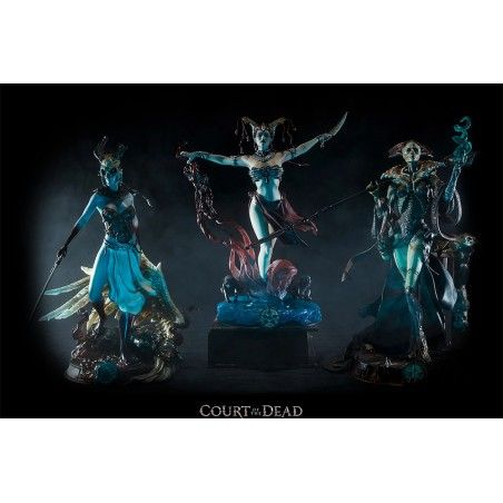 COURT OF THE DEAD BUNDLE STATUE SET 25/32CM FIGURE