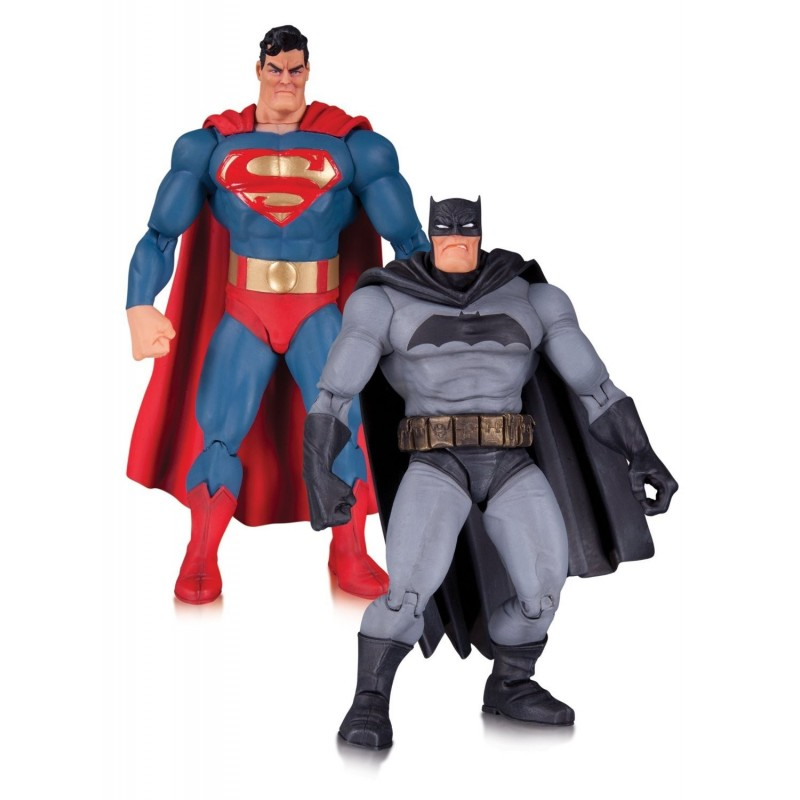 DC COLLECTIBLES BATMAN THE DARK KNIGHT RETURNS ANNIVERSARY 2-PACK ACTION FIGURE