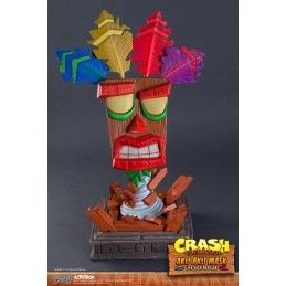 CRASH BANDICOOT - AKU AKU MASK LIFE SIZE REPLICA RESIN STATUE 65CM FIGURE FIRST4FIGURES