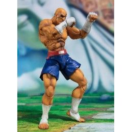 BANDAI STREET FIGHTER V SAGAT S.H. FIGUARTS ACTION FIGURE