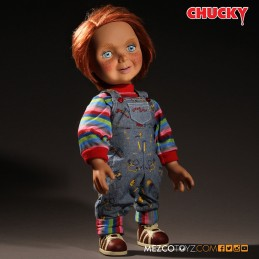 CHILD PLAY GOOD GUY CHUCKY TALKING ACTION FIGURE MEZCO TOYS