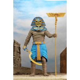 NECA IRON MAIDEN PHARAOH EDDIE CLOTHED ACTION FIGURE
