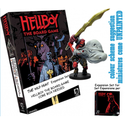 HELLBOY: THE BOARD GAME - THE WILD HUNT EXPANSION GIOCO DA TAVOLO INGLESE MANTIC