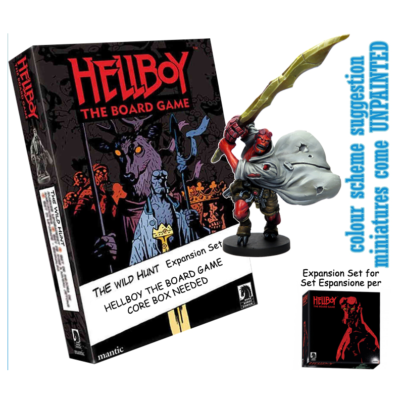 MANTIC HELLBOY: THE BOARD GAME - THE WILD HUNT EXPANSION GIOCO DA TAVOLO INGLESE