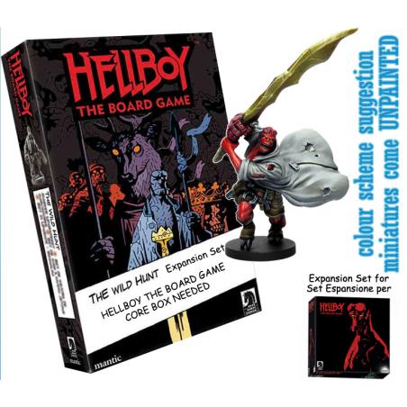 HELLBOY: THE BOARD GAME - THE WILD HUNT EXPANSION GIOCO DA TAVOLO INGLESE