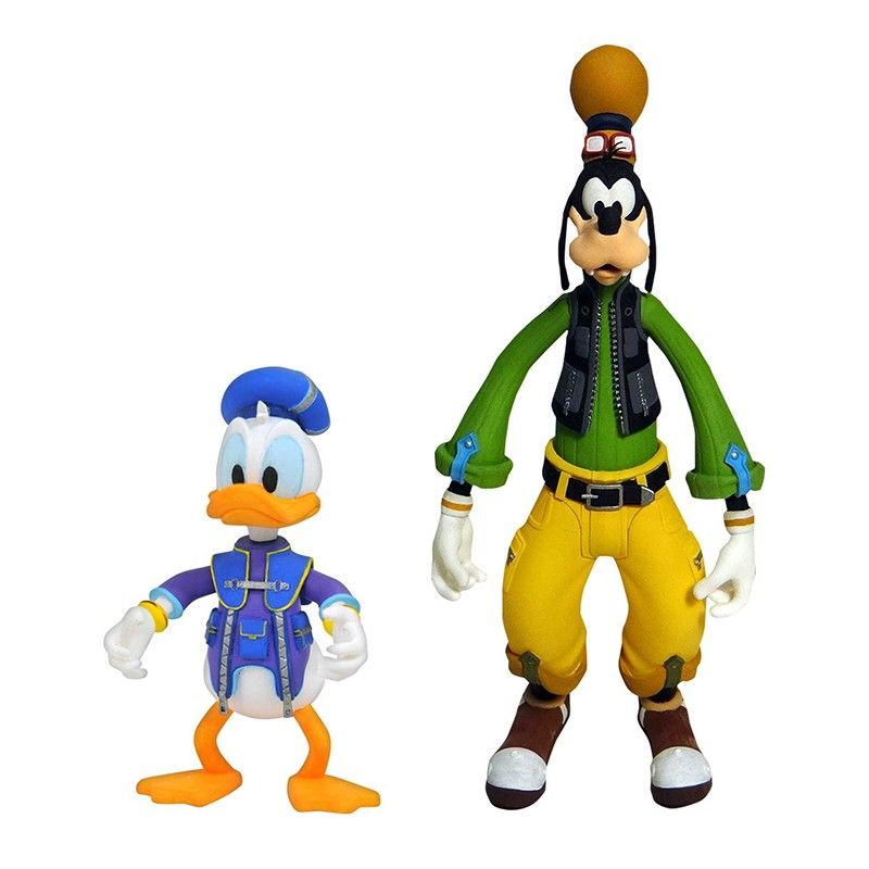 DIAMOND SELECT KINGDOM HEARTS 3 SELECT - GOOFY AND DONALD 2-PACK ACTION FIGURE