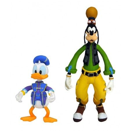 KINGDOM HEARTS 3 SELECT - GOOFY AND DONALD 2-PACK ACTION FIGURE