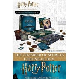 HARRY POTTER MINIATURES ADVENTURE GAME - THE CHAMBER OF SECRETS CHRONICLE BOX GIOCO DA TAVOLO KNIGHT MODELS