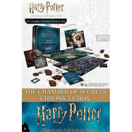 HARRY POTTER MINIATURES ADVENTURE GAME - THE CHAMBER OF SECRETS CHRONICLE BOX GIOCO DA TAVOLO