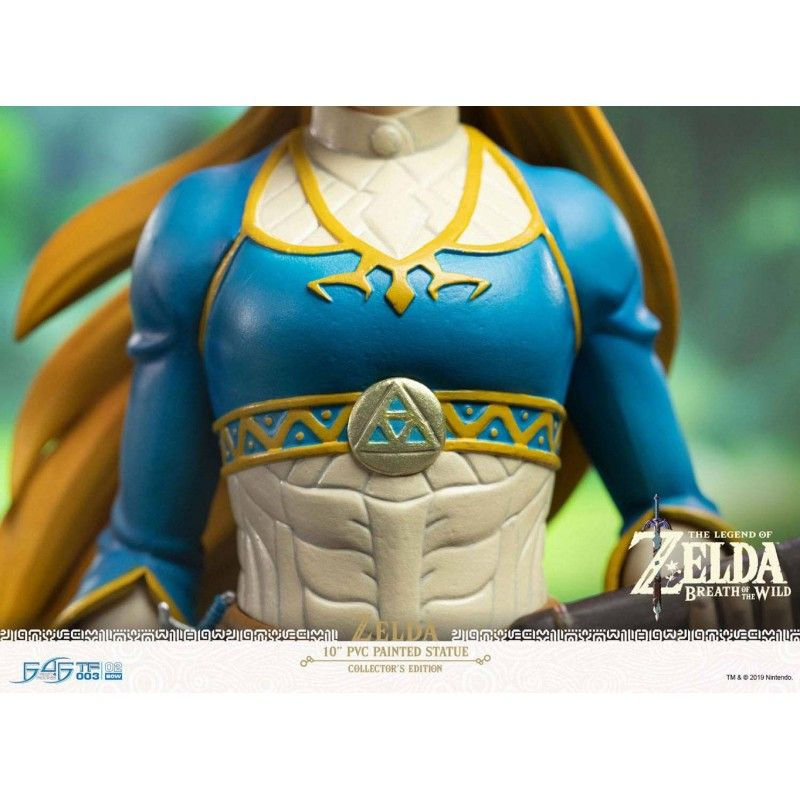 FIRST4FIGURES THE LEGEND OF ZELDA BREATH OF THE WILD - ZELDA STATUE COLLECTOR'S EDITION 25CM FIGURE