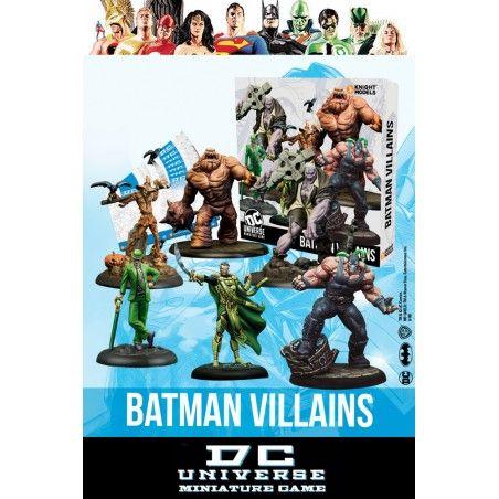 DC UNIVERSE MINIATURE GAME - BATMAN VILLAINS MINI RESIN STATUE FIGURE