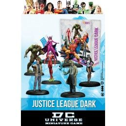 KNIGHT MODELS DC UNIVERSE MINIATURE GAME - DARK JUSTICE LEAGUE MINI RESIN STATUE FIGURE