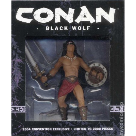 CONAN BLACK WOLF CONVENTION EXCLUSIVE LIMITED ACTION FIGURE