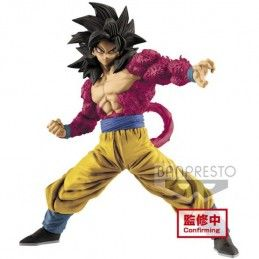 DRAGON BALL GT FULL SCRATCH - SUPER SAIYAN 4 SON GOKU 18CM STATUE FIGURE BANPRESTO