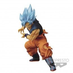 BANPRESTO DRAGON BALL SUPER MAXIMATIC - SUPER SAIYAN GOD SON GOKU 20CM STATUE FIGURE