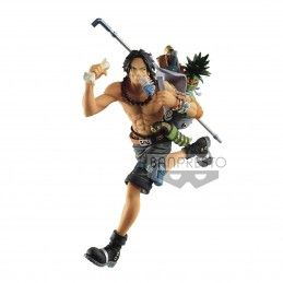 BANPRESTO ONE PIECE THREE BROTHERS - PORTGAS D. ACE STATUE FIGURE