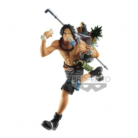 ONE PIECE THREE BROTHERS - PORTGAS D. ACE STATUE FIGURE