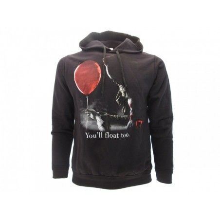 FELPA HOODIE IT PENNYWISE YOU'LL FLOAT TOO