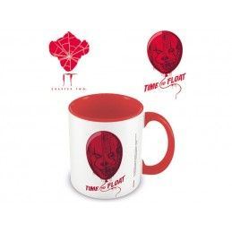 PYRAMID INTERNATIONAL IT PENNYWISE TIME TO FLOAT CERAMIC MUG TAZZA IN CERAMICA
