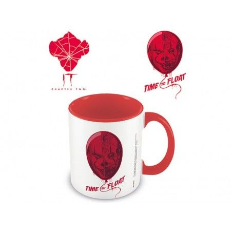 IT PENNYWISE TIME TO FLOAT CERAMIC MUG TAZZA IN CERAMICA
