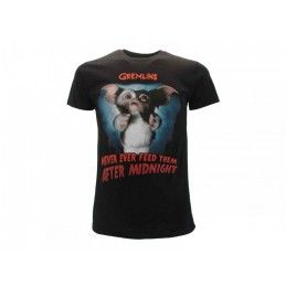MAGLIA T SHIRT GREMLINS NEVER EVER FEED