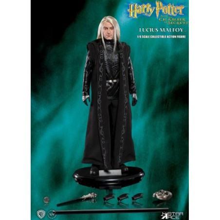 HARRY POTTER - LUCIUS MALFOY 1/6 SCALE 30CM COLLECTIBLE ACTION FIGURE