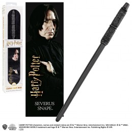 NOBLE COLLECTIONS HARRY POTTER - SEVERUS SNAPE PVC WAND REPLICA BACCHETTA