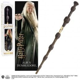 NOBLE COLLECTIONS HARRY POTTER ALBUS DUMBLEDORE THE ELDER PVC WAND REPLICA BACCHETTA