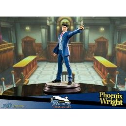 FIRST4FIGURES ACE ATTORNEY DUAL DESTINIES - PHOENIX WRIGHT STATUE 34CM FIGURE