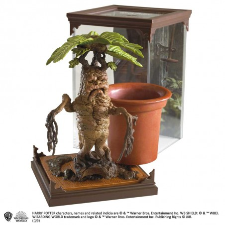 HARRY POTTER MAGICAL CREATURES - MANDRAKE MANDRAGOLA STATUA FIGURE
