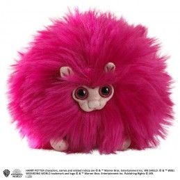 NOBLE COLLECTIONS HARRY POTTER - PUFFOLA PIGMEA PINK PYGMY PUFF PELUCHE PLUSH 15 CM