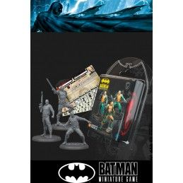BATMAN MINIATURE GAME - KOBRA SOLDIERS MINI RESIN STATUE FIGURE KNIGHT MODELS