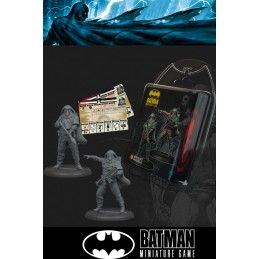 BATMAN MINIATURE GAME - KOBRA HAZARD TROOPERS MINI RESIN STATUE FIGURE KNIGHT MODELS