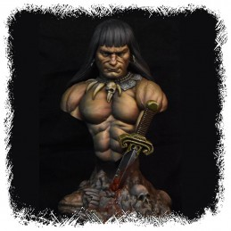 CONAN THE BARBARIAN 1/8 RESIN BUST STATUE FIGURE KABUKI