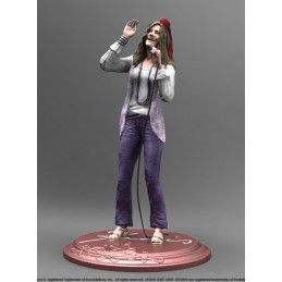KNUCKLEBONZ ROCK ICONZ - JANIS JOPLIN 21CM RESIN STATUE FIGURE