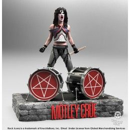 ROCK ICONZ - MOTLEY CRUE TOMMY LEE 21CM RESIN STATUE FIGURE KNUCKLEBONZ