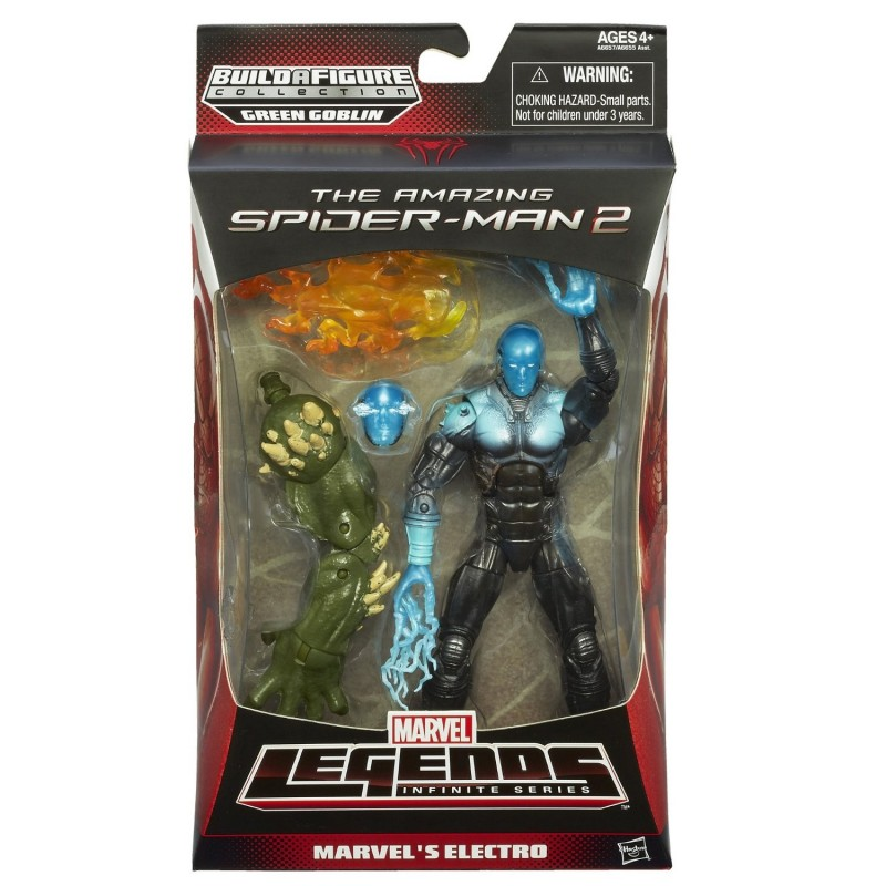 MARVEL LEGENDS INFINITE SERIES ULTIMATE GOBLIN - ELECTRO ACTION FIGURE