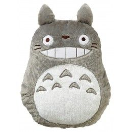 TOTORO GREY PILLOW CUSCINO 43CM PELUCHES STUDIO GHIBLI