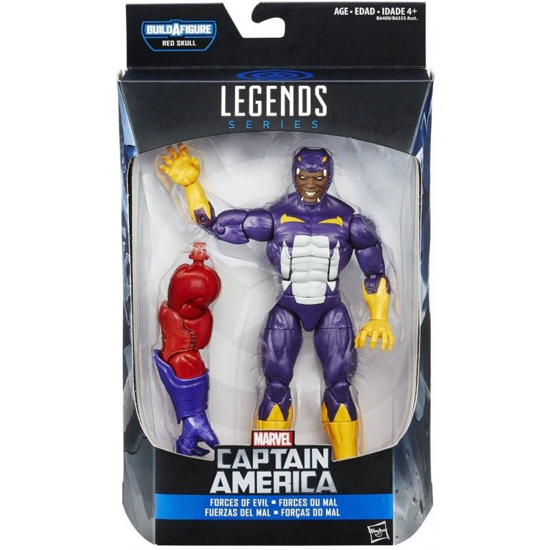MARVEL LEGENDS INFINITE SERIES RED SKULL - COTTONMOUTH ACTION FIGURE HASBRO