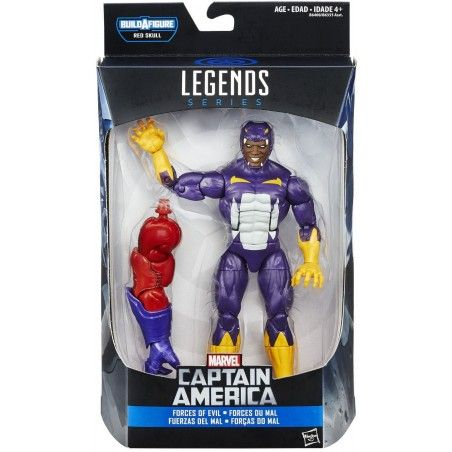 MARVEL LEGENDS INFINITE SERIES RED SKULL - COTTONMOUTH ACTION FIGURE