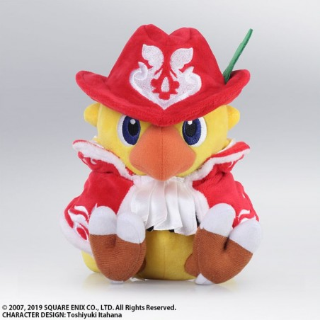 CHOCOBO MISTERY DUNGEON - CHOCOBO RED MAGE PELUCHES 16CM PLUSH FIGURE