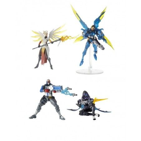 OVERWATCH ULTIMATES SET OF 2 PACKS 2019 WAVE 1 ACTION FIGURES