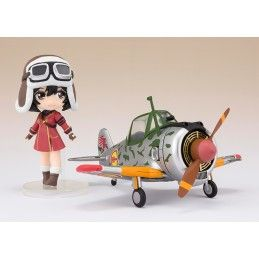 KOTOBUKI SQUADRON KYLIE AND HAYABUSA ACTION FIGURE BANDAI