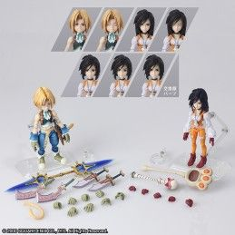 SQUARE ENIX FINAL FANTASY IX - ZIDANE AND GARNET BRING ARTS ACTION FIGURE