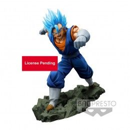 DRAGON BALL Z DOKKAN BATTLE - SUPER SAIYAN GOD VEGETTO 16CM STATUE FIGURE BANPRESTO