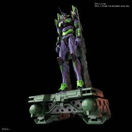 RG REAL GRADE EVANGELION EVA 01 AND TRANSPORTER SET 1/144 MODEL KIT ACTION FIGURE BANDAI