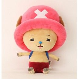PUPAZZO PELUCHE ONE PIECE NEW WORLD - TONY CHOPPER HAPPY 25CM PLUSH SAKAMI MERCHANDISE