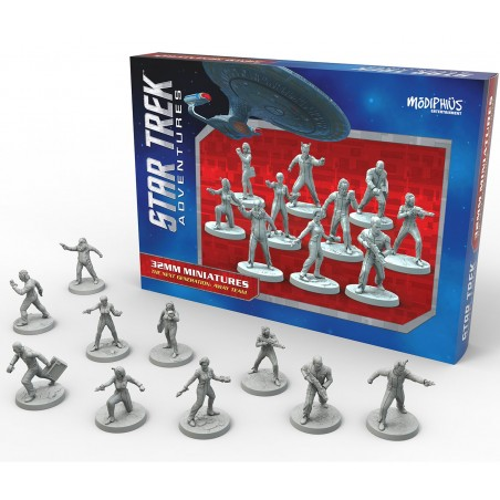 STAR TREK ADVENTURES - THE NEXT GENERATION AWAY TEAM FIGURE